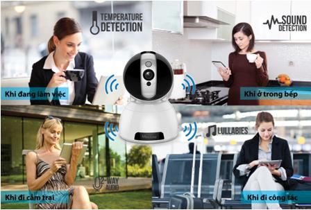camera IP quan sát từ xa mọi lúc mọi nơi